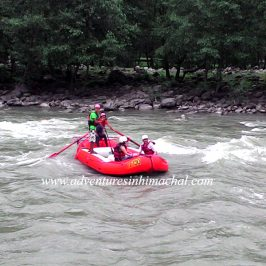 River Rafting in Manali , Beas River , Himalayas
