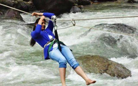 River Crossing in Himachal