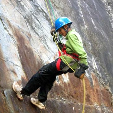 Rock Climbing & Abseiling in Himachal