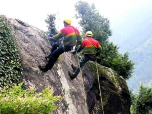 Rappelling, Adventure Activity